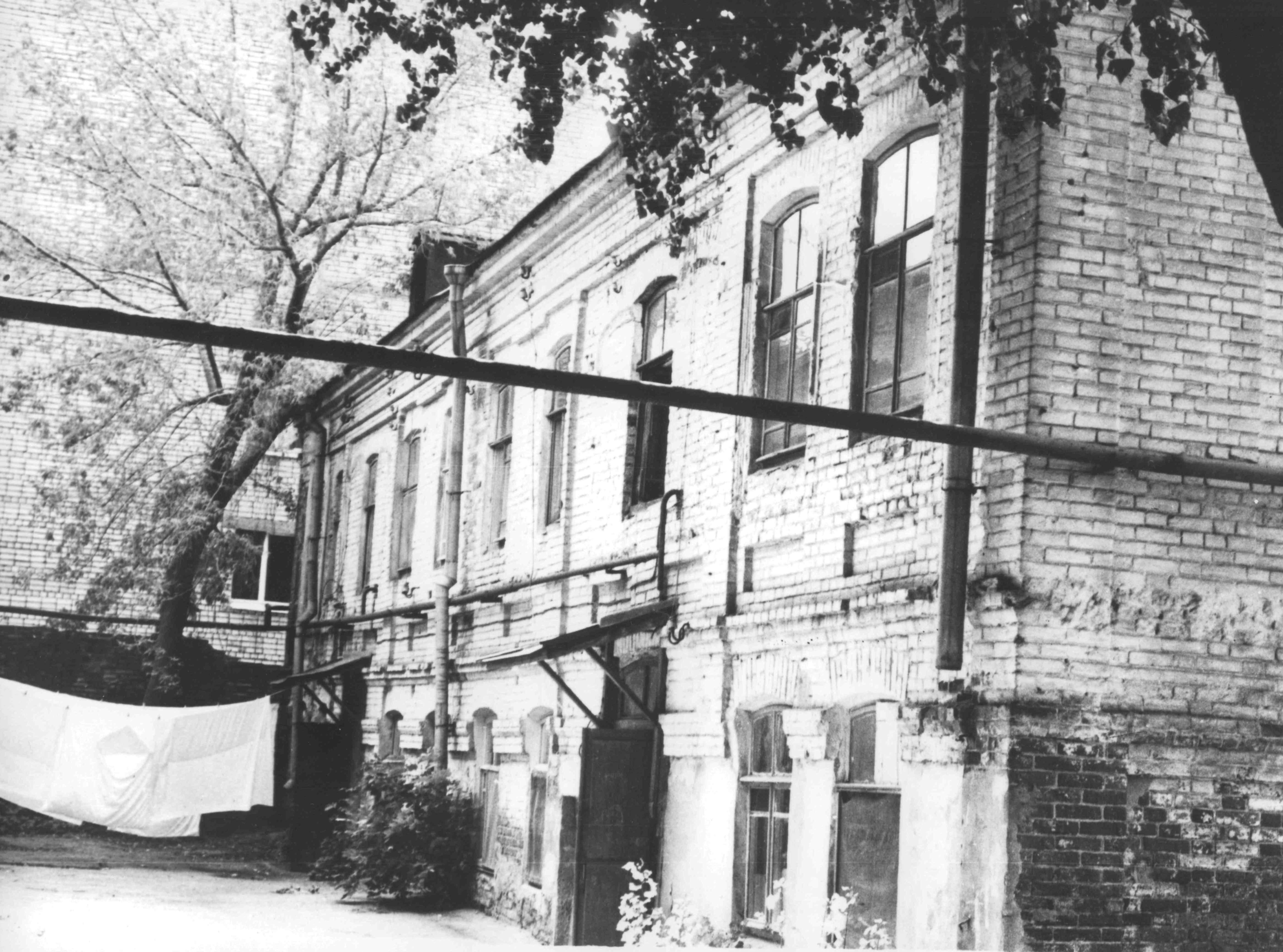 Старые фото города белово дом